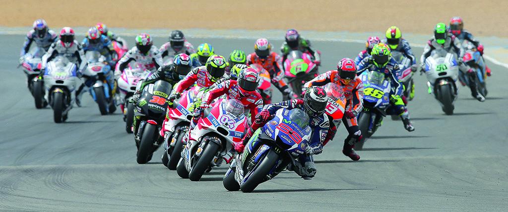 Start MotoGP
