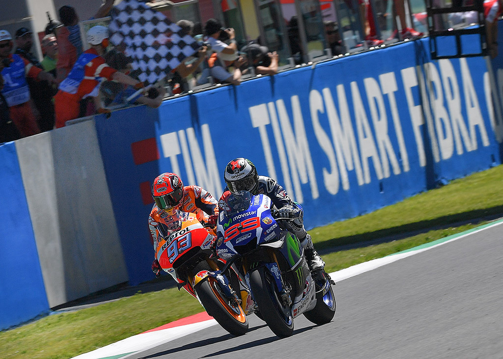 motogp finish