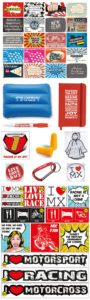 Set gadgets, stickers en postkaarten