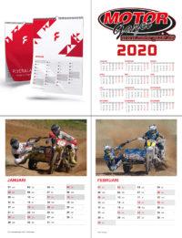 A4 kalender 2020 Zijspancross